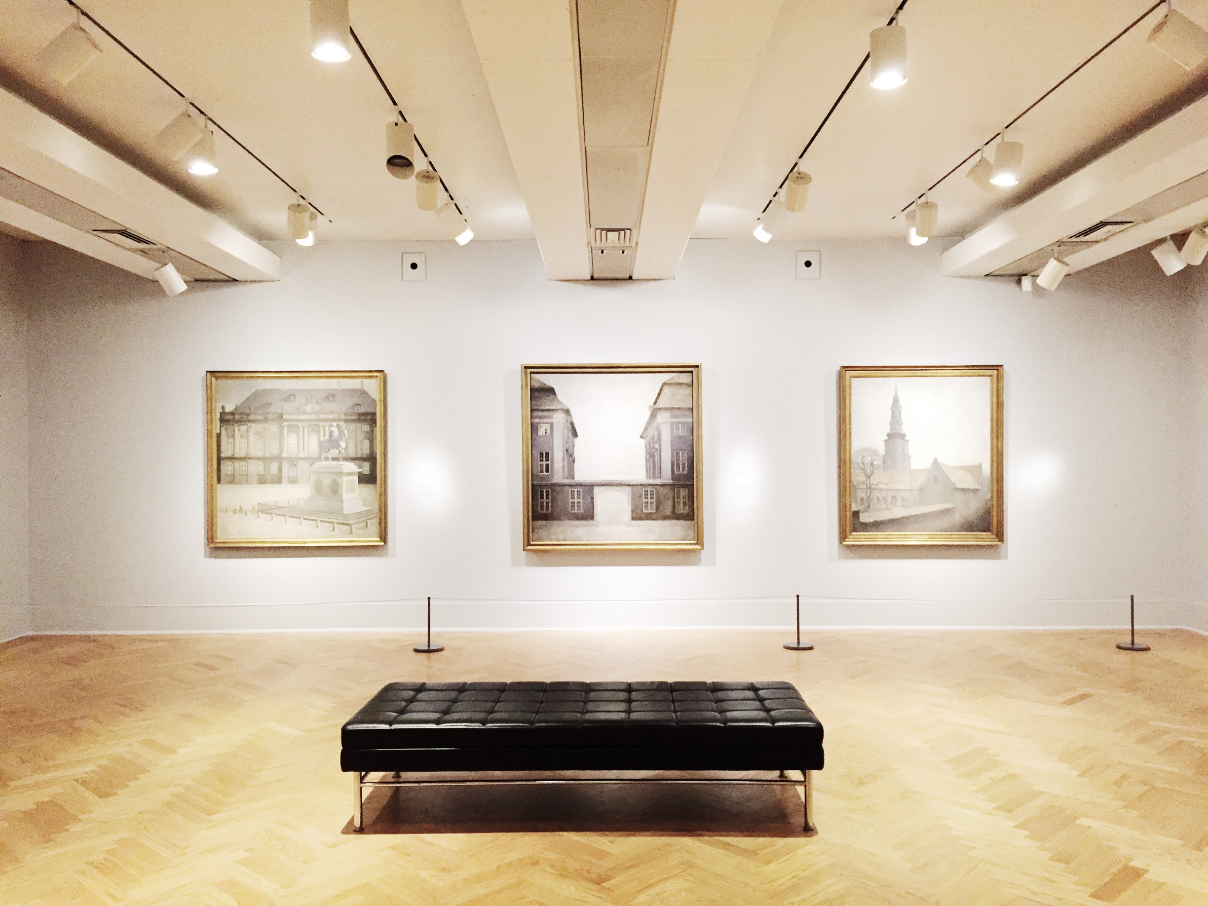 The  Painting Tranquility: Masterworks by Vilhelm Hammershø i at the AGO.
