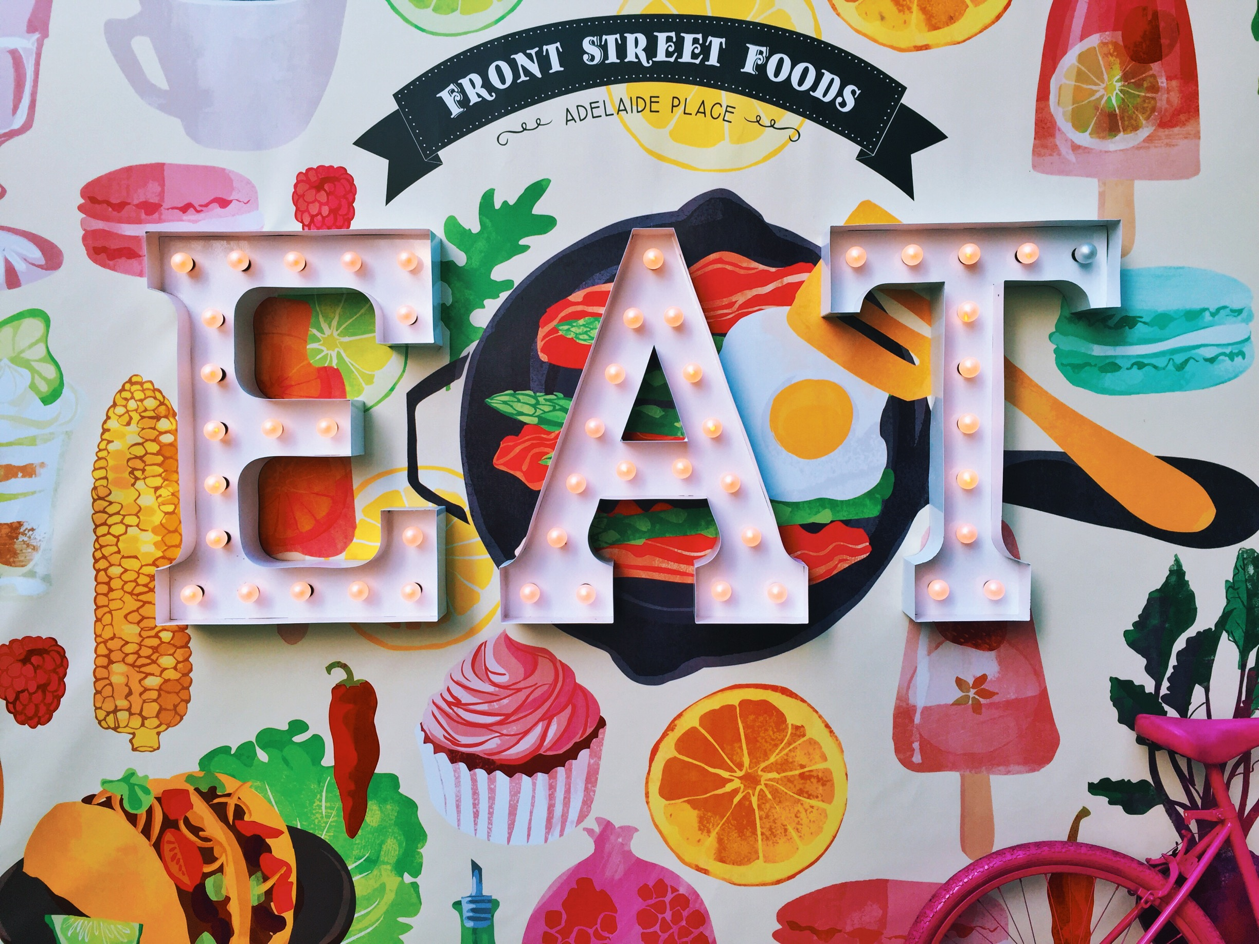 Front Street Food Market , a summer-long food pop-up in the Financial District.