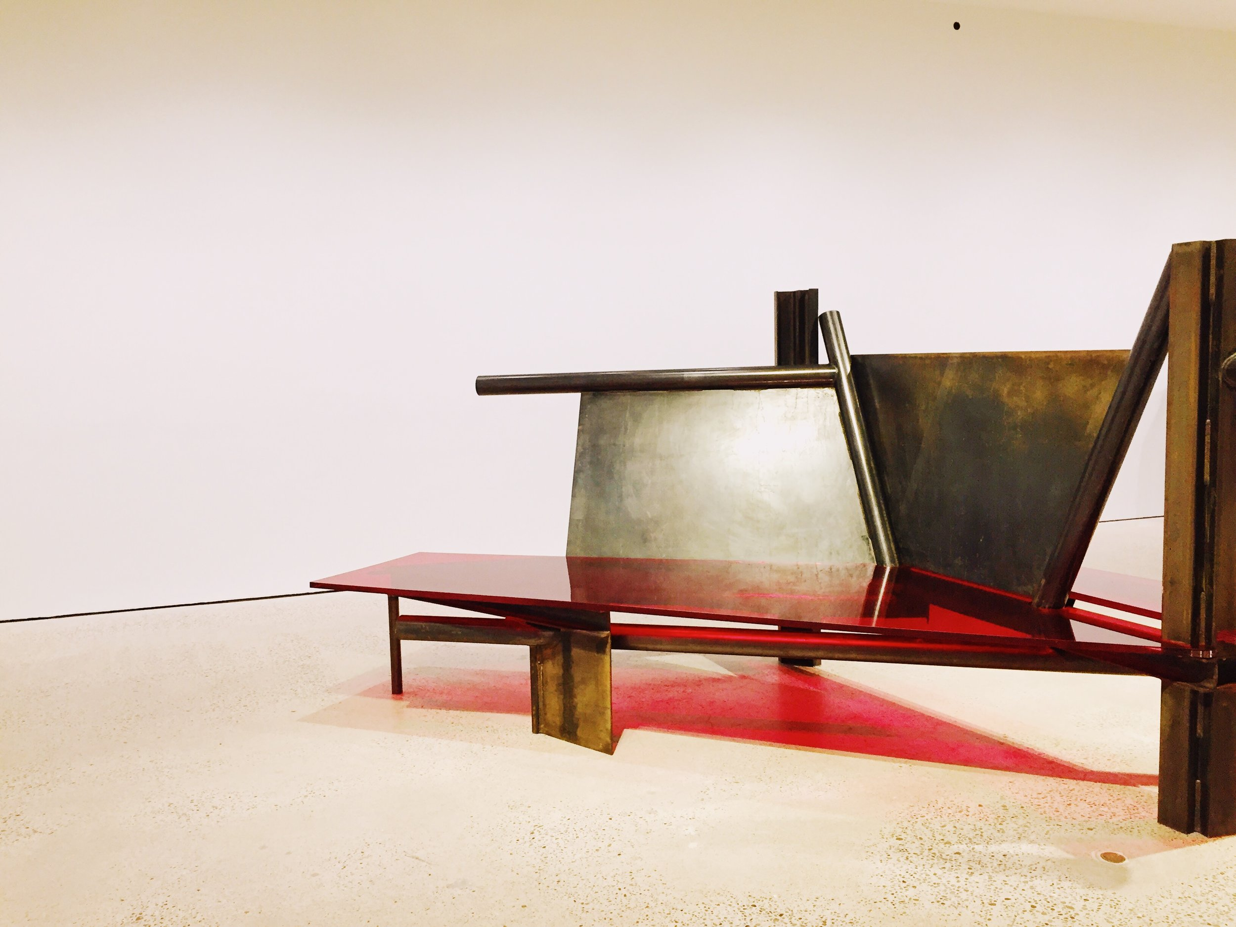 Anthony Caro  at the AGO.