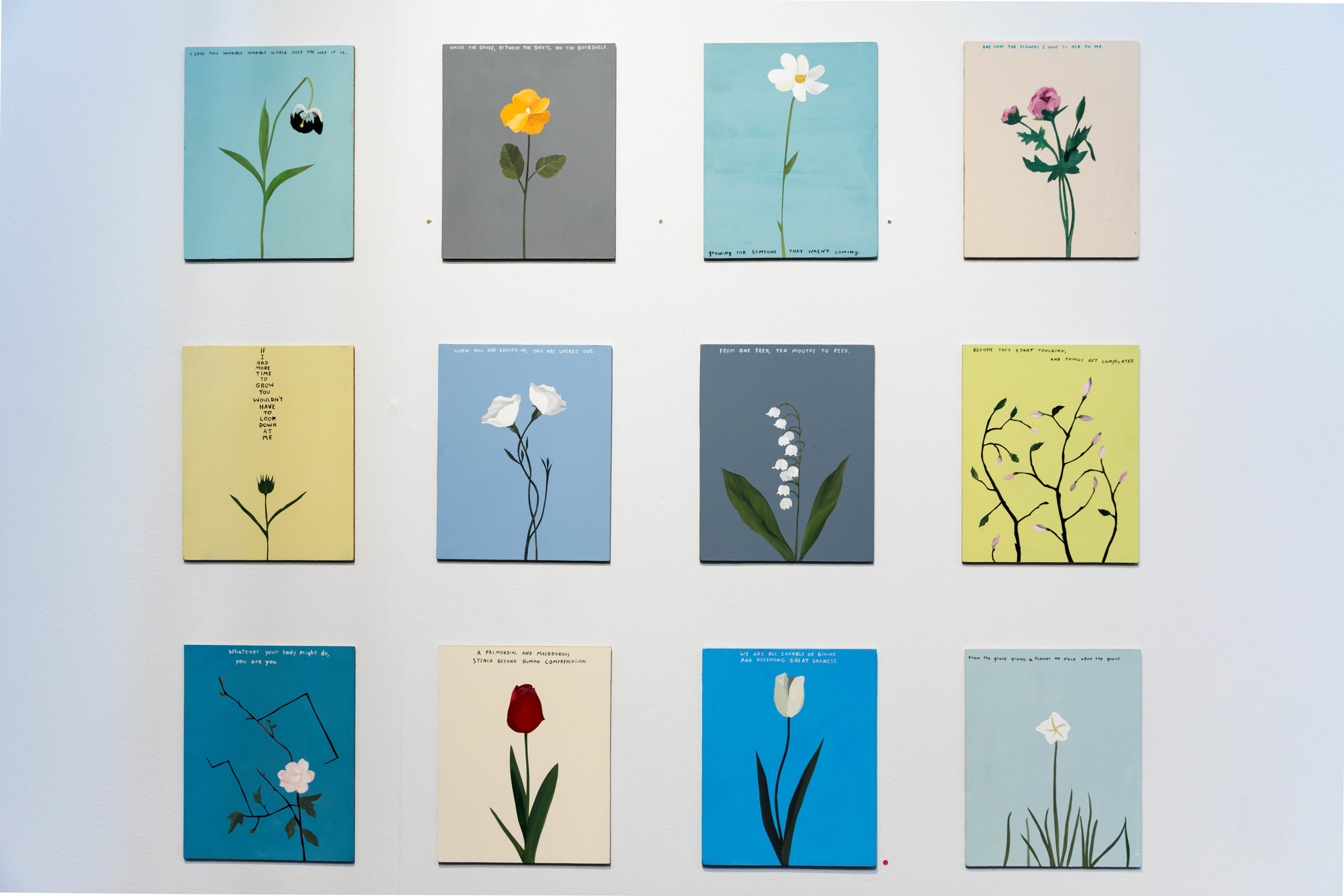 Flowers,  2017    Neil Farber & Michael Dumontier