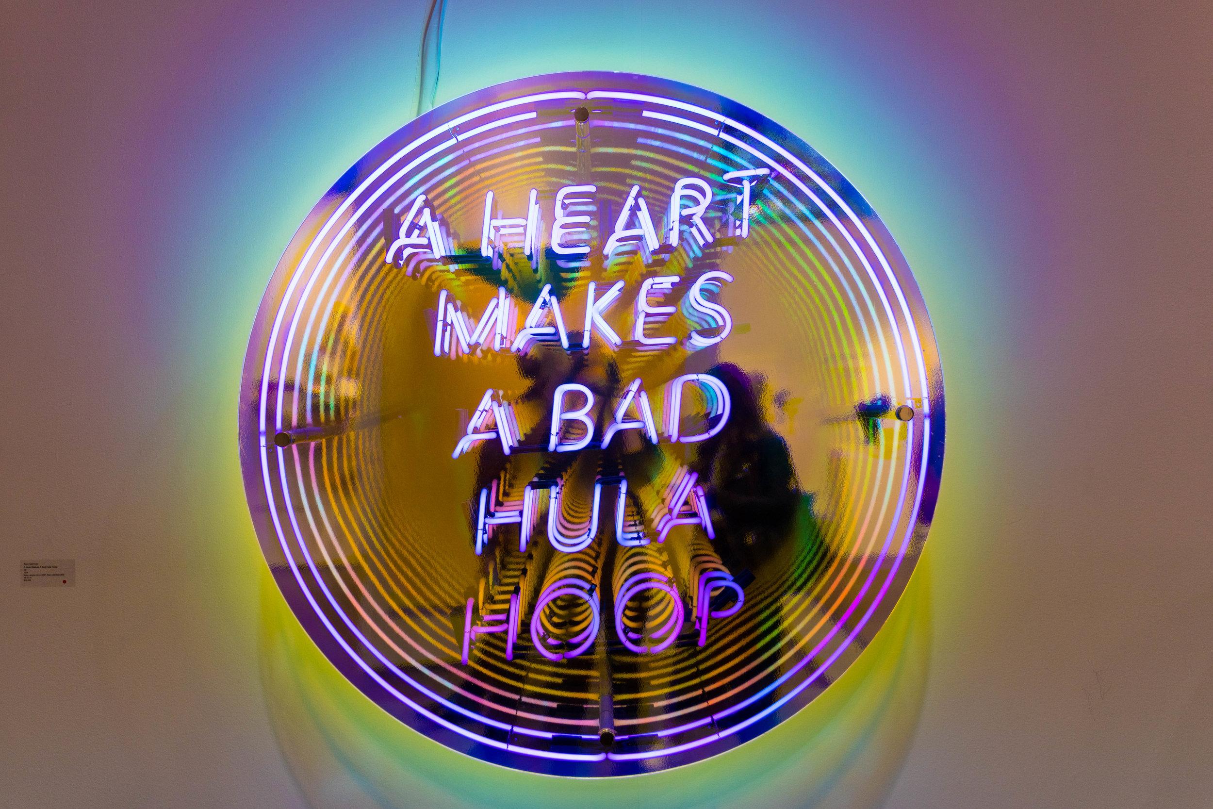 A Heart Makes a Bad Hula Hoop , 2014  Ben Skinner