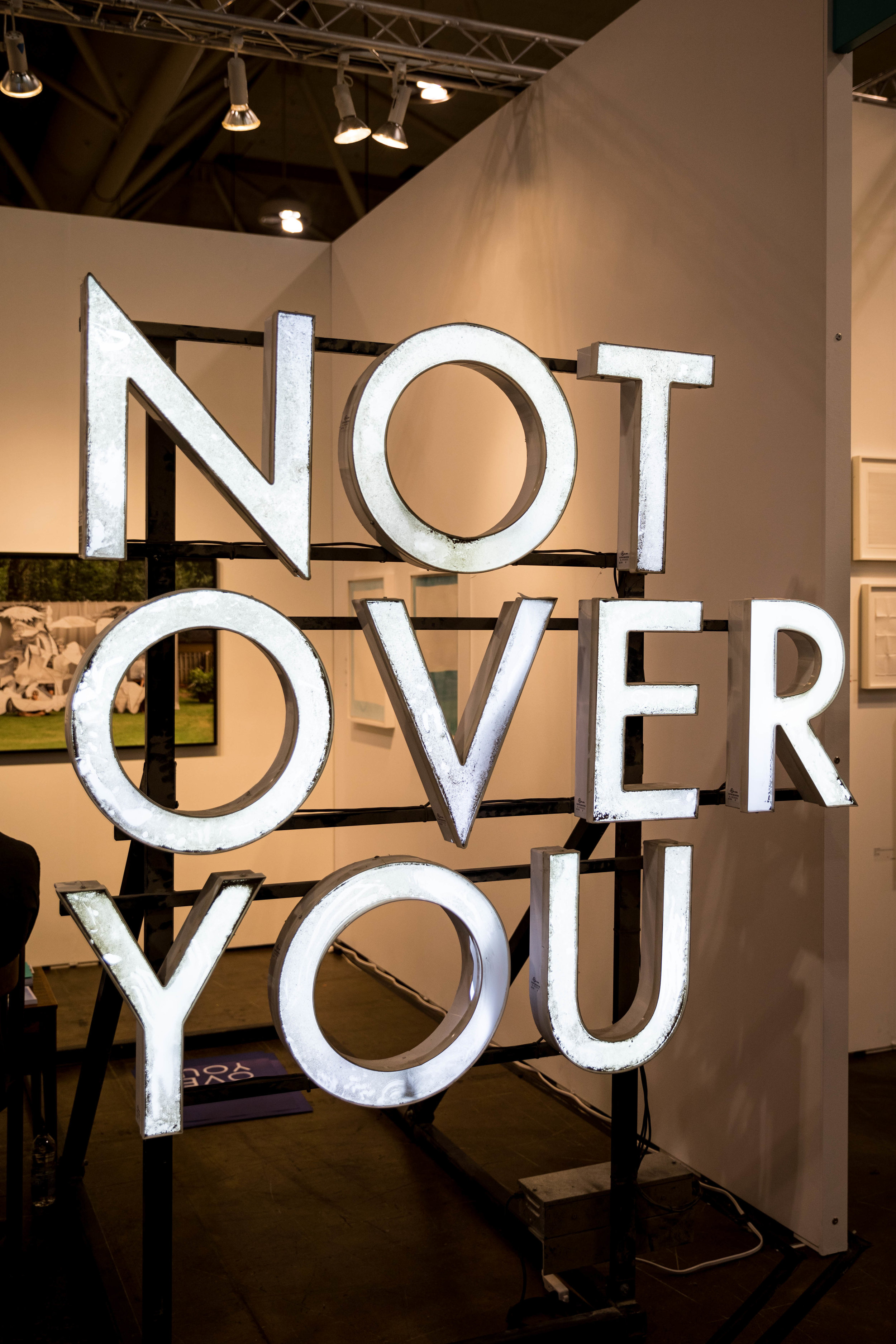 Not Over You, 2016  Mark Clintberg