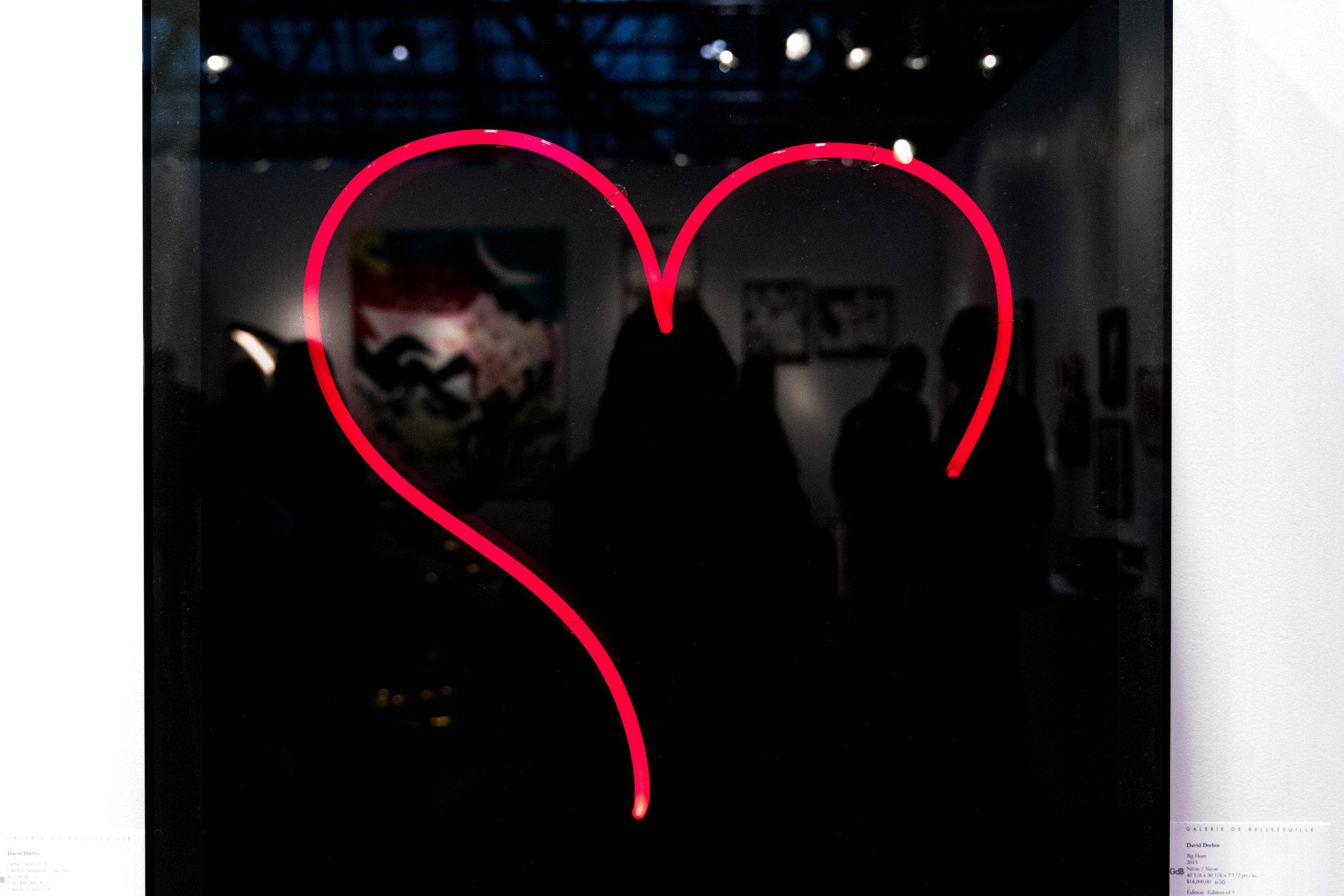 Big Heart , 2013  David Drebin