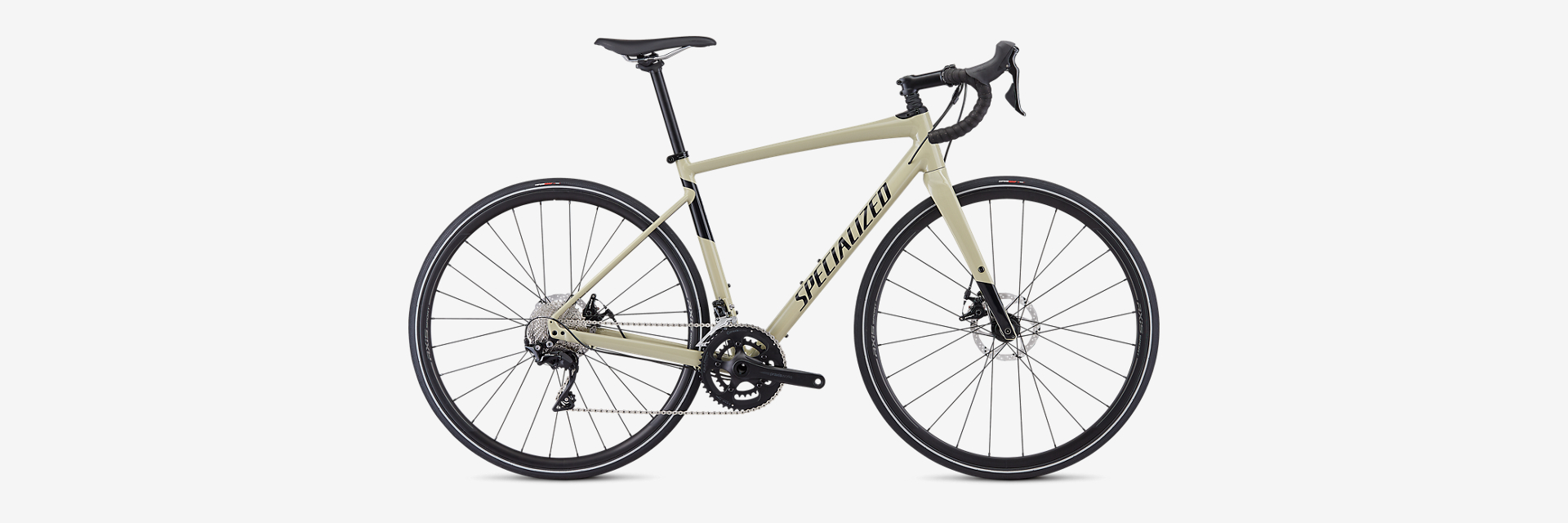 "2019 SPECIALIZED DIVERGE COMP    Type:  Road/Gravel Bike  | Size:  56cm  | Fit:  Generally fits riders with a height of 5'8"" to 5'11""  