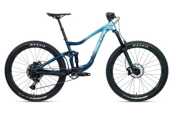 "2020 Liv Intrigue 27.5    Type:  Full Suspension Mountain Bike  | Frame Size:  Sm  Wheel Size:  27.5  | Fit:  Generally fits riders with a height of 5'2"" to 5'7""  