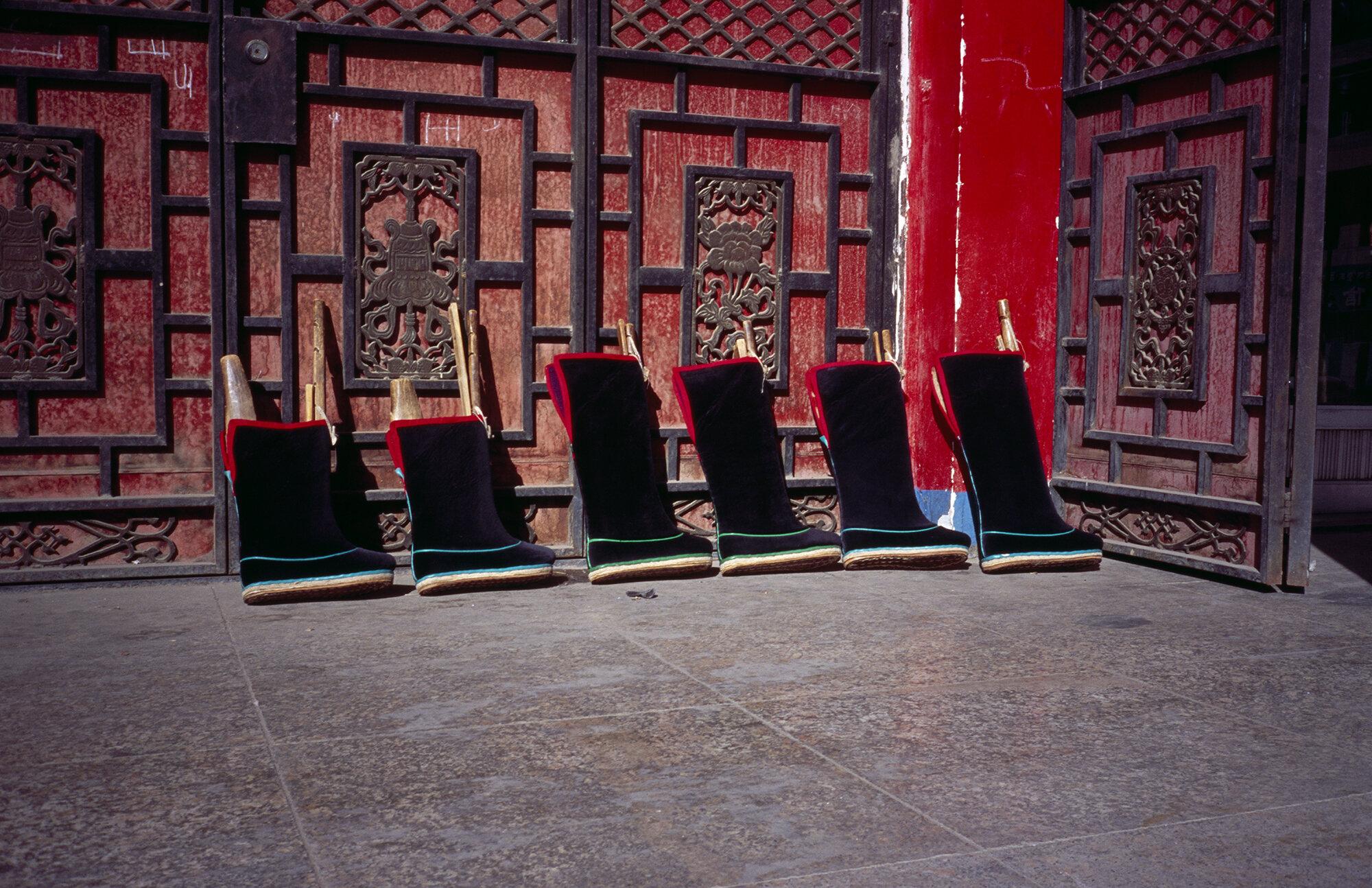 The Monk's Shoes, Xiahe, Gansu, China, 2019
