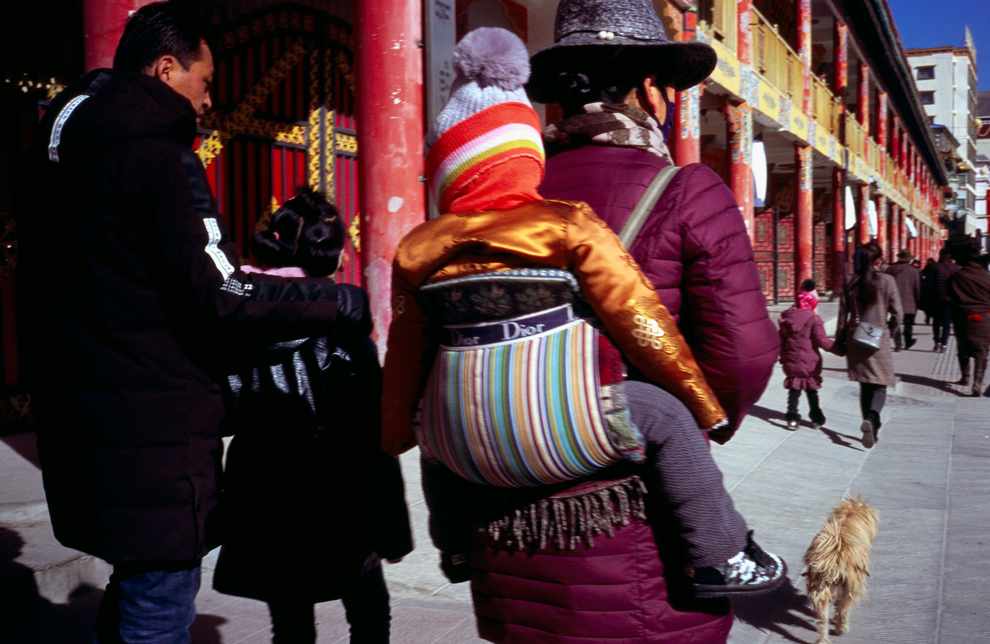 Dior, Xiahe, Gansu, China, 2019