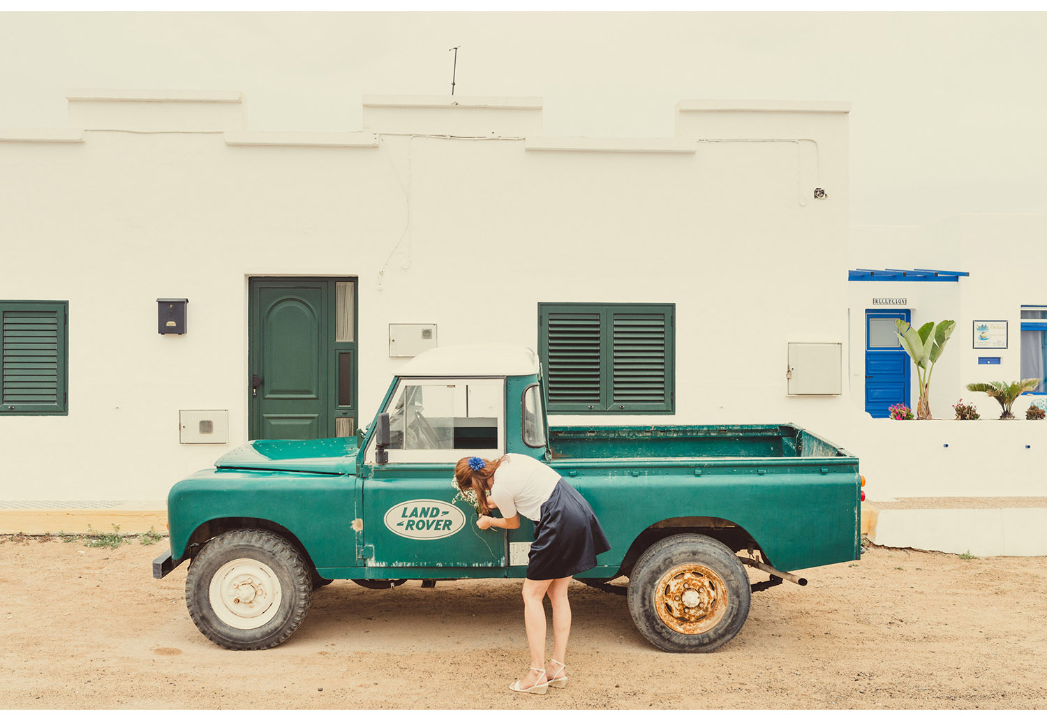Land Rover La Graciosa