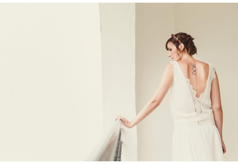 Teresa Mallent vestido novia