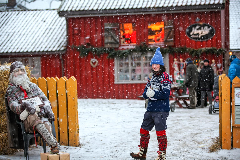 Jul i Gamlebyen i Fredrikstad
