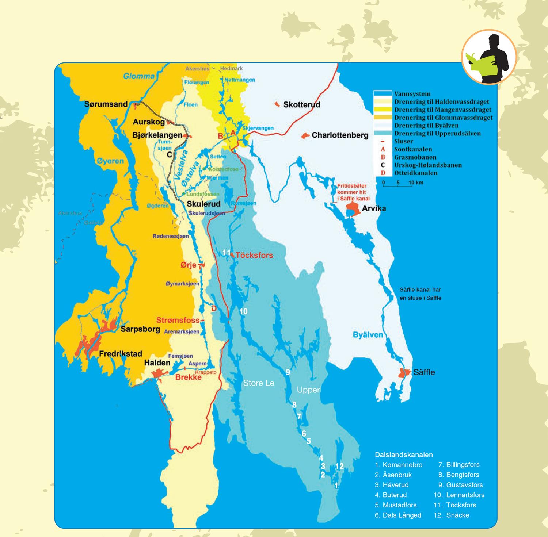 Kart Haldenkanalen