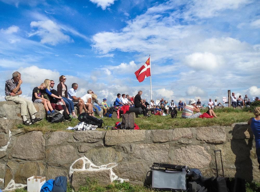 Akerøyadagen på Akerøya Fort. Foto: Akerøya Forts Venner