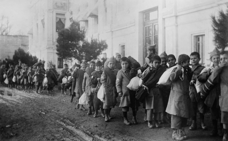Ukjent sted i Tyrkia på 1920-tallet. Foto: © Everett Historical