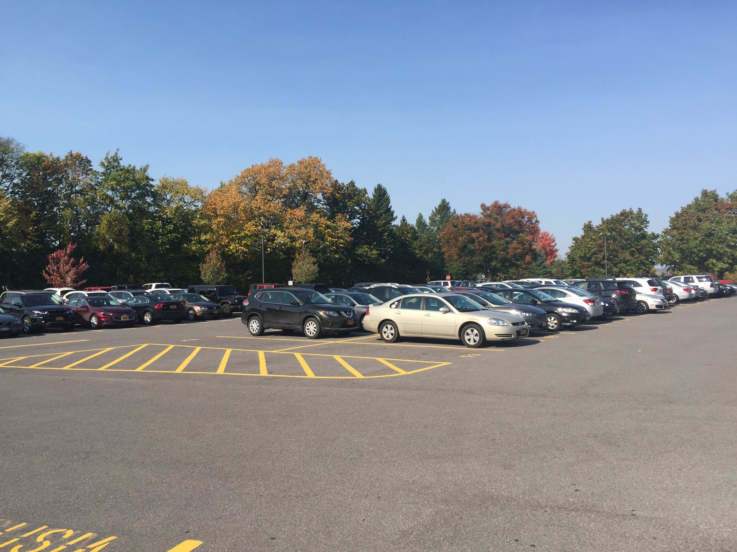 Assigned spots have brought a sense of organization to the senior parking lot and gotten rid of many underlying problems of student parking.