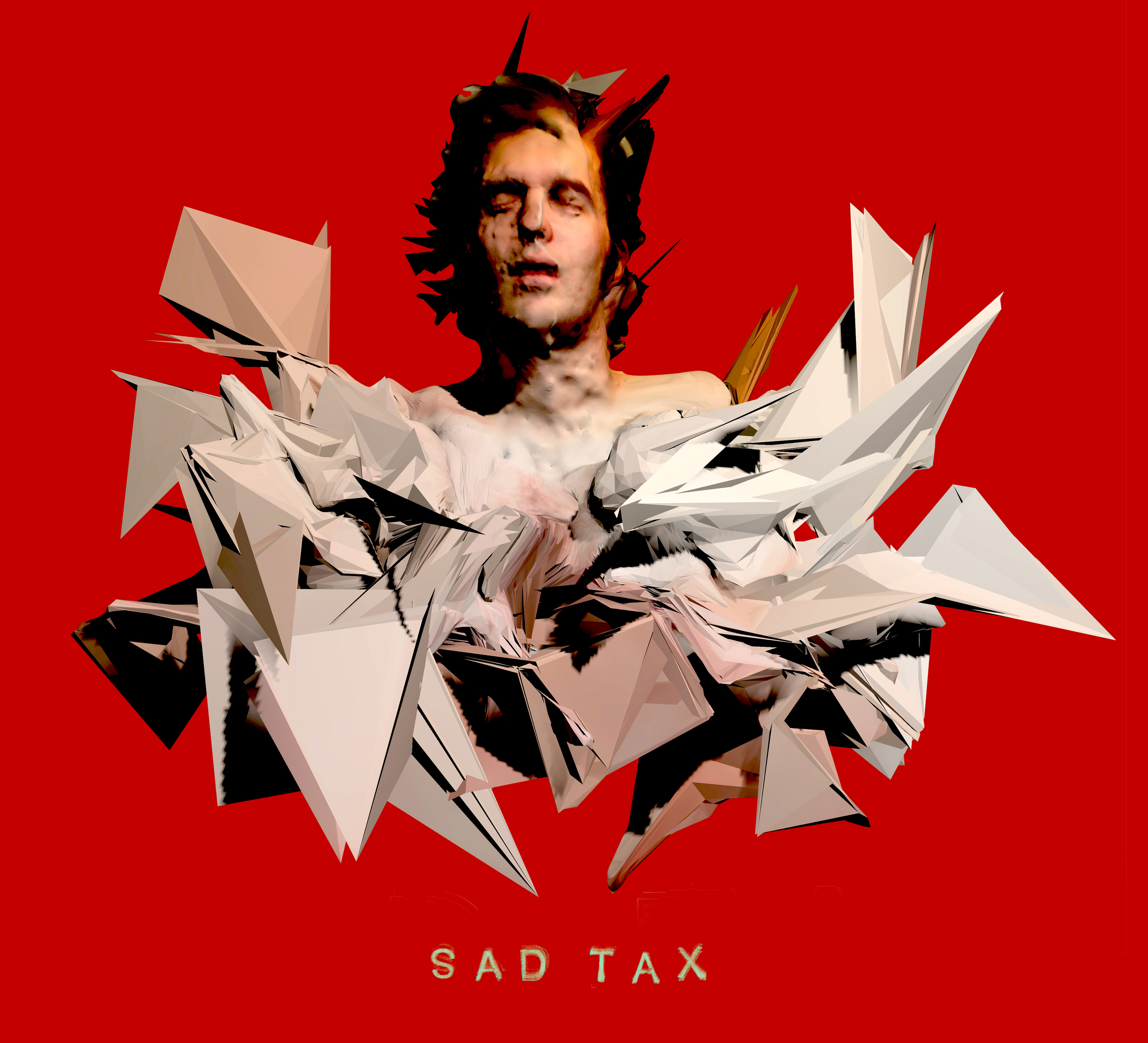 Sad Tax - Red Pearl Mountain front cover