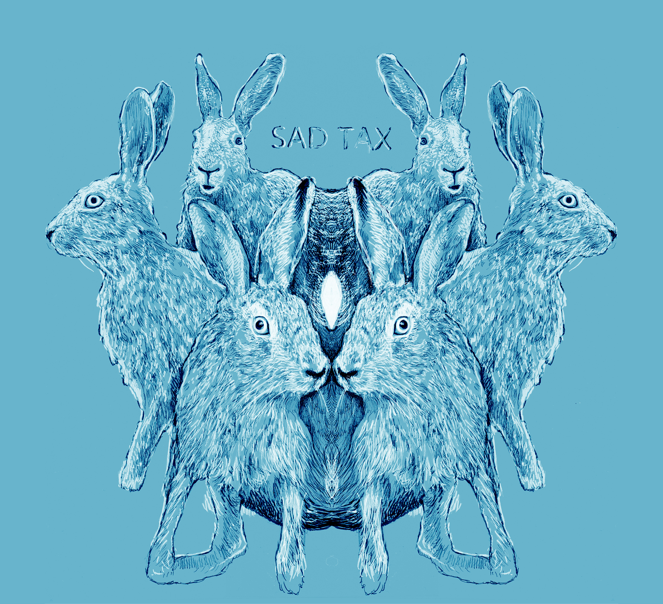 Sad Tax - Rabbit Parallel Miracles - front cover