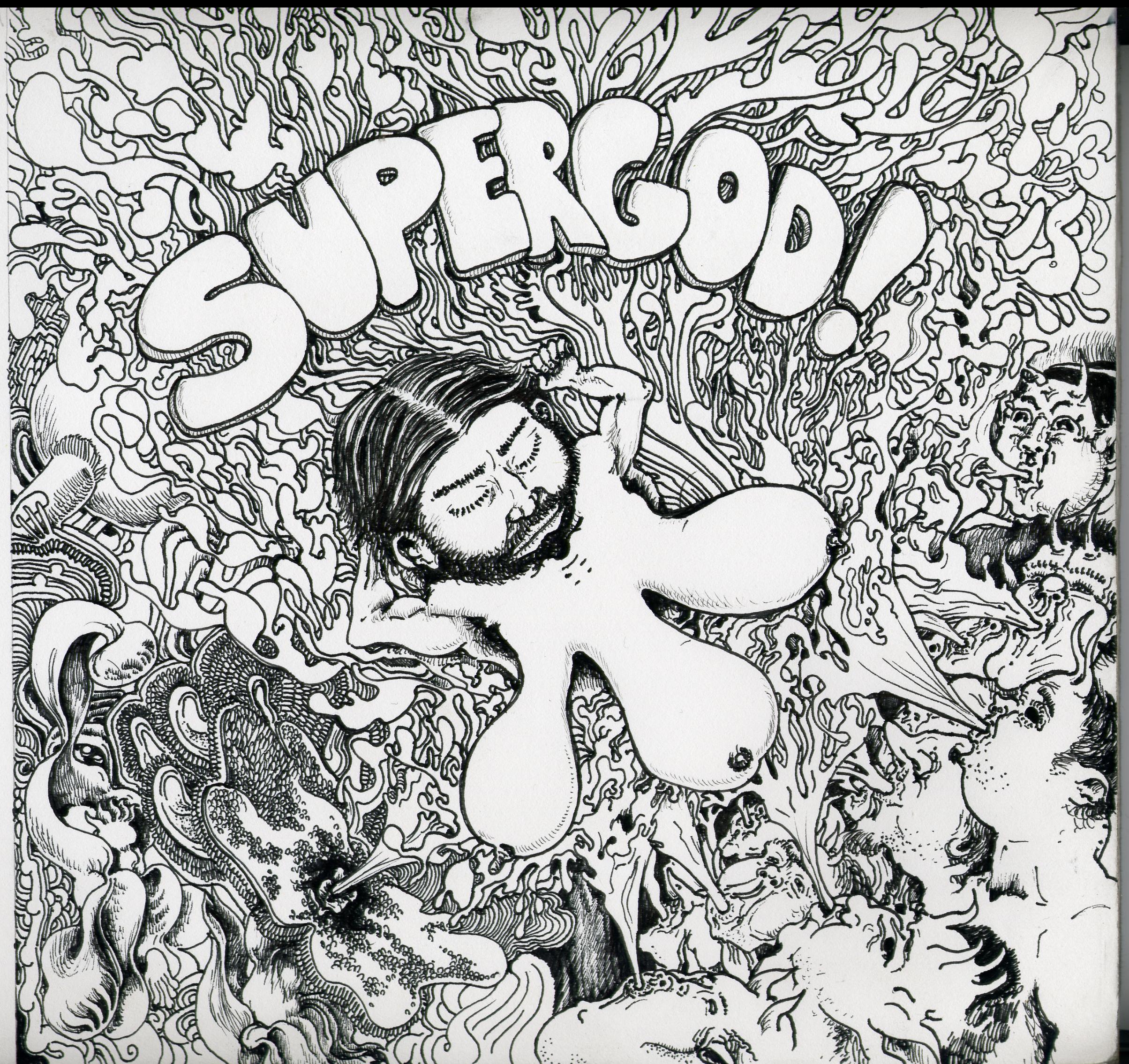 SUPERGOD! - SUPERGOD! - front cover