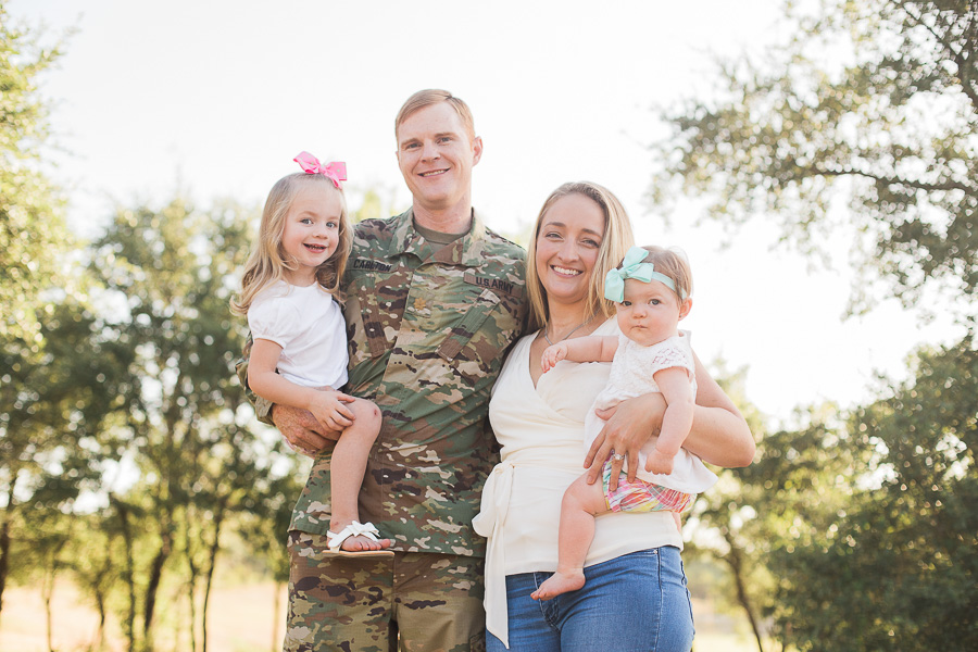 Army military family photo session before a deployment - allyourheartphotography.com - Killeen, Harker Heights, and Fort Hood Family Photographer