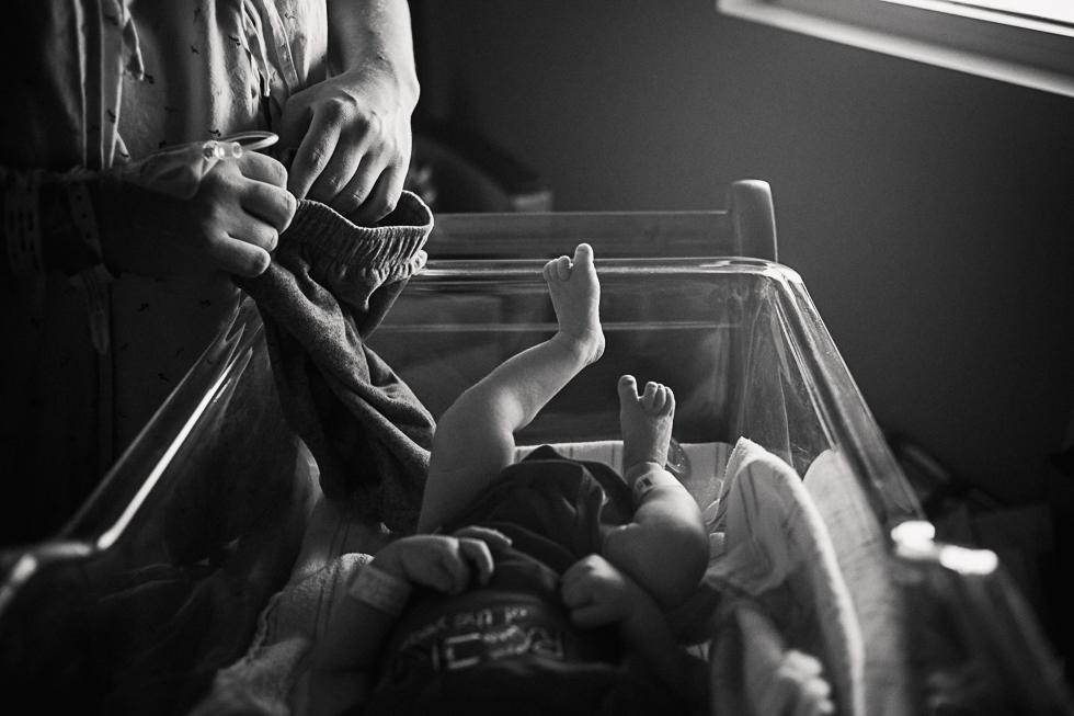 newborn hospital baby - all your heart photography - killeen fort hood family photographer.jpg