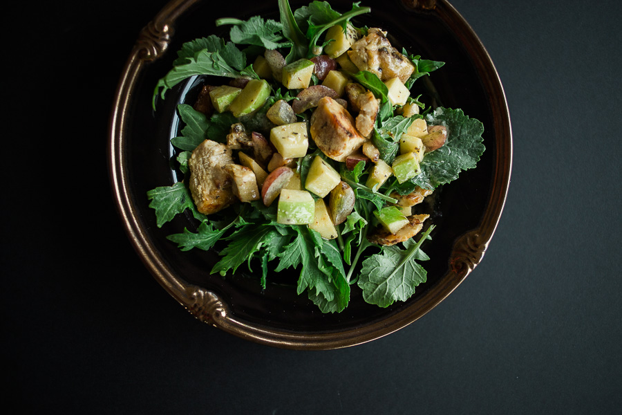 21 day fix honey mustard chicken salad - all your heart photography - killeen texas photographer-1.jpg