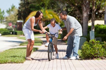 Child Biking