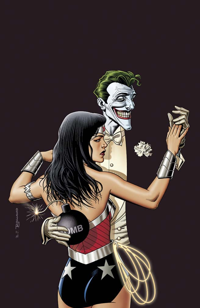 (Photo: DC Comics) In contrast, here's the Wonder Woman Joker #41 Variant Cover
