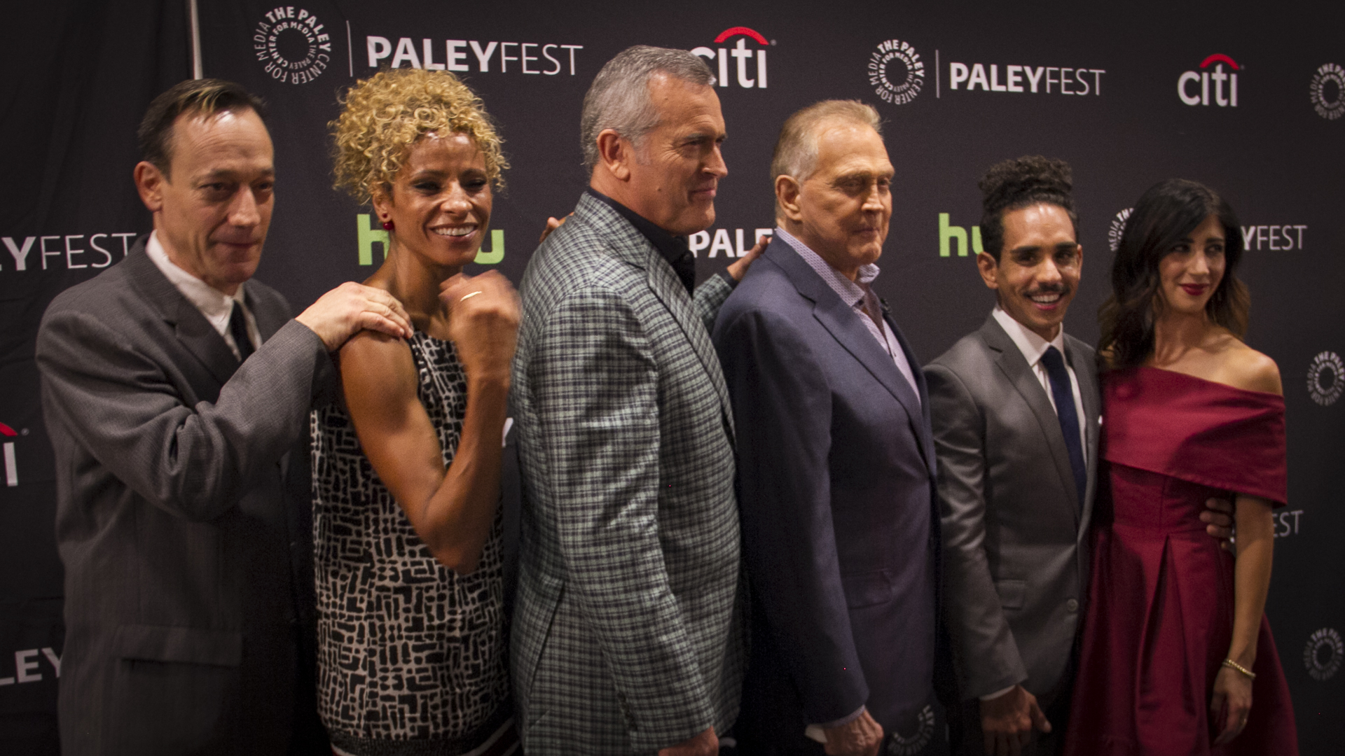 Ted Raimi, Michelle Hurd, Bruce Campbell, Lee Majors, Ray Santiago, Dana DeLorenzo