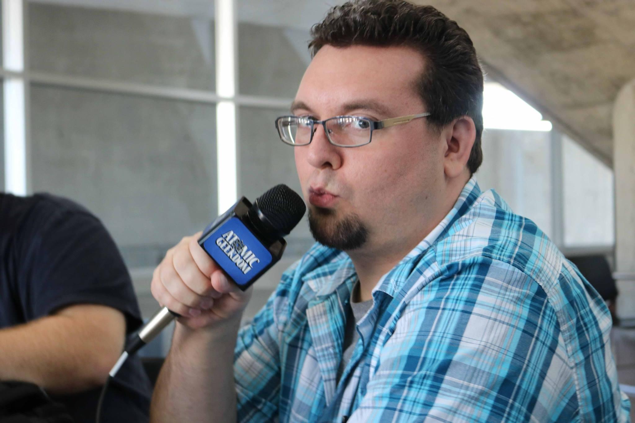 Loving the mic.jpg