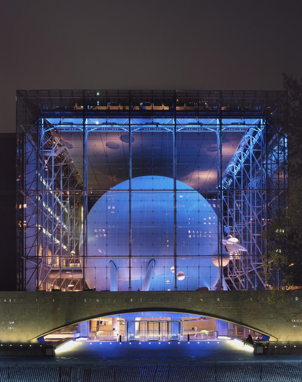 Hayden Planetarium — Polshek Partnership — Richard Barnes