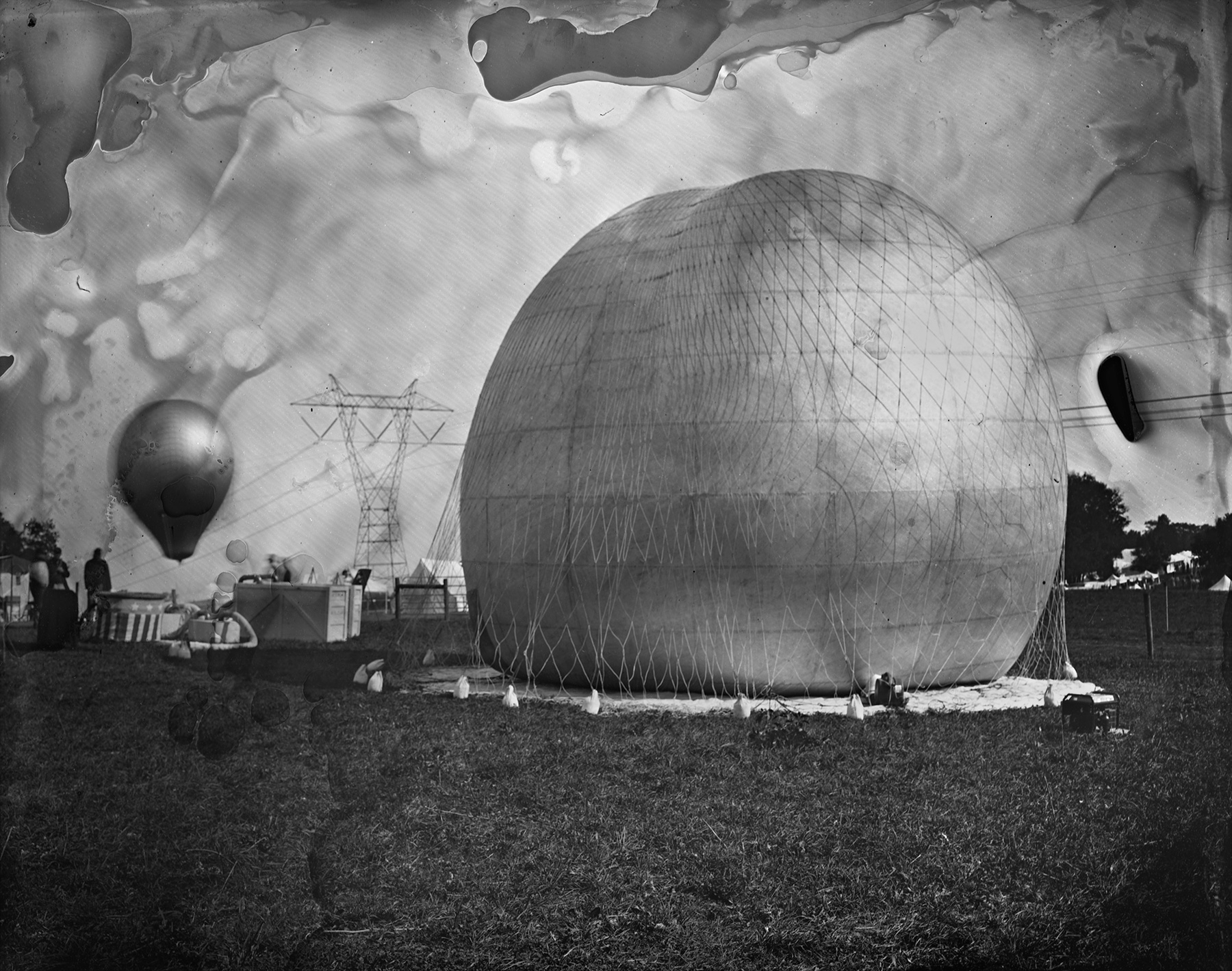 Observation Balloons,  Antietam, 2013
