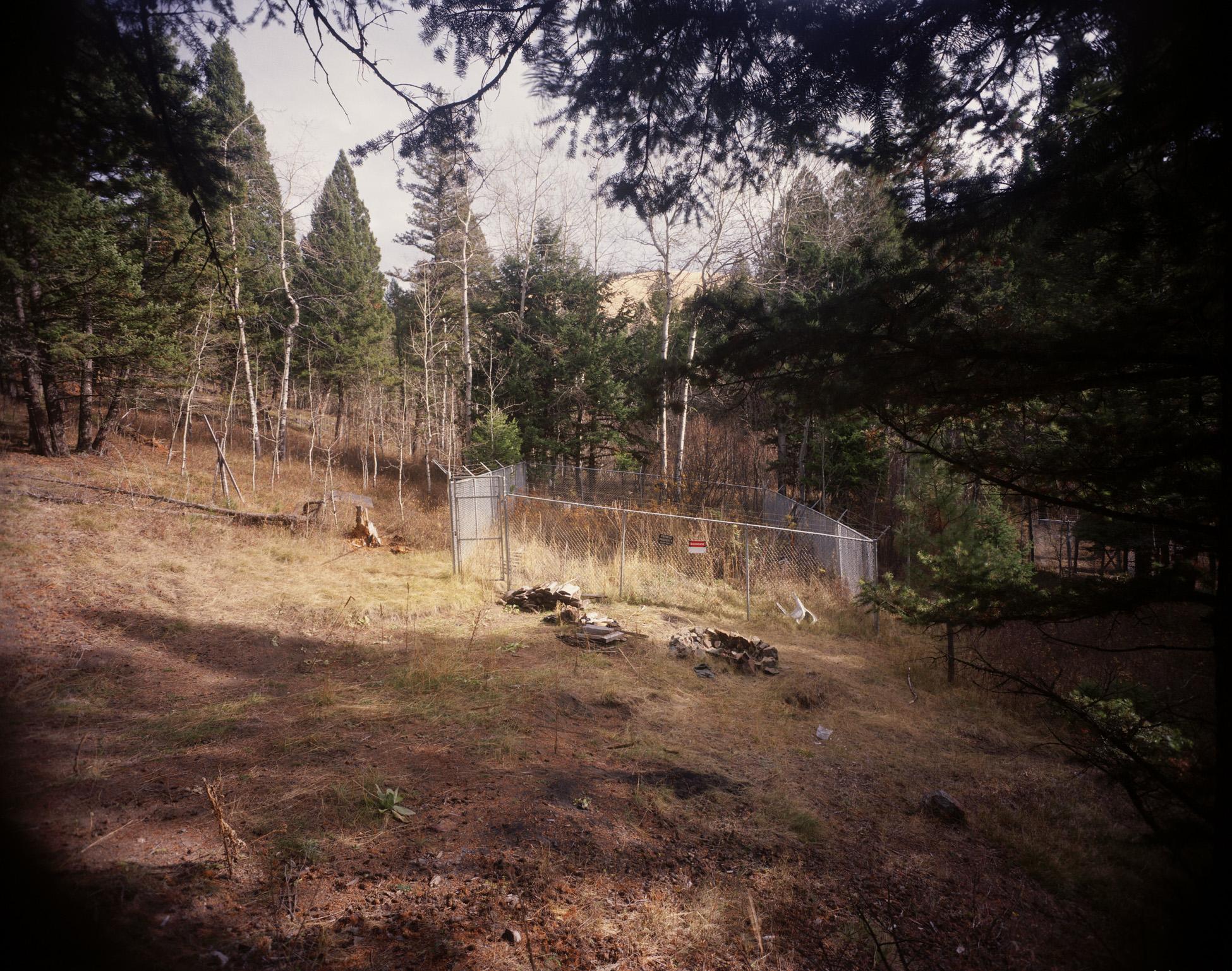 Unabomber Cabin Site, Lincoln, Montana, 1998