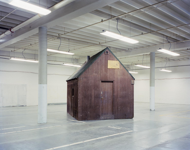 Unabomber Cabin, Sacramento, CA, 1998