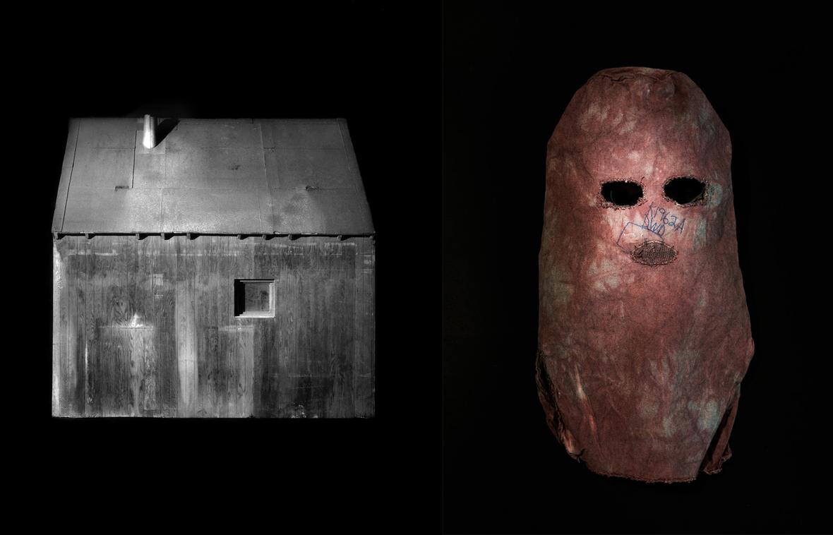 Unabomber Cabin Exhibit D, 1998; Unabomber Artifact, Mask, 2015