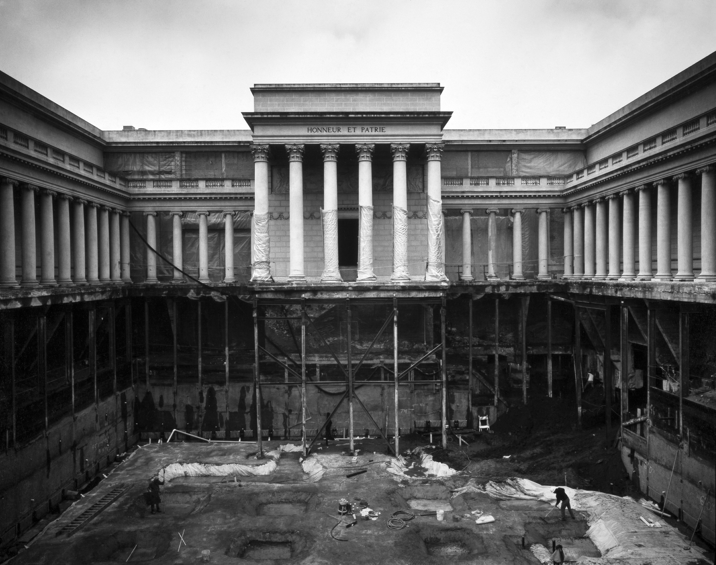 Museum With Excavated Courtyard, 1994