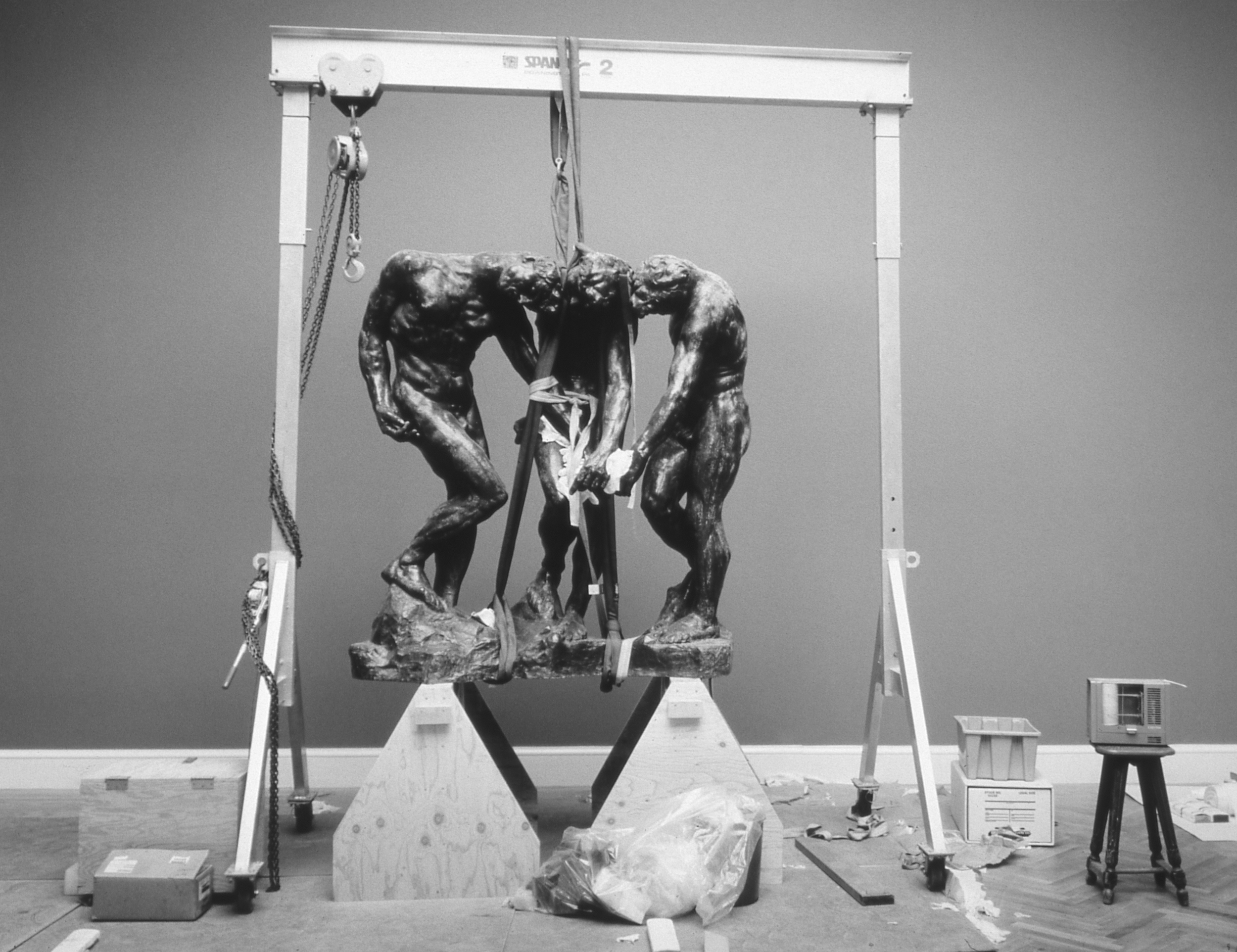 Hanging Sculpture, Rodin, 1995