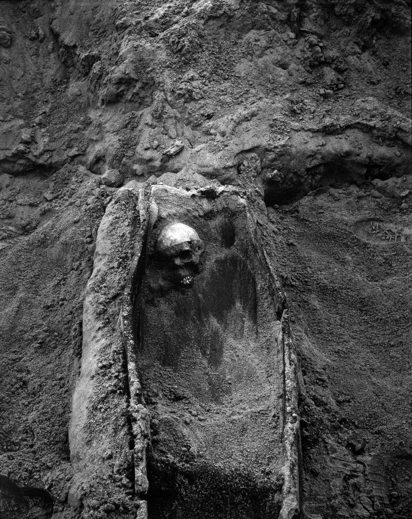 Burial Figure In Coffin, 1994