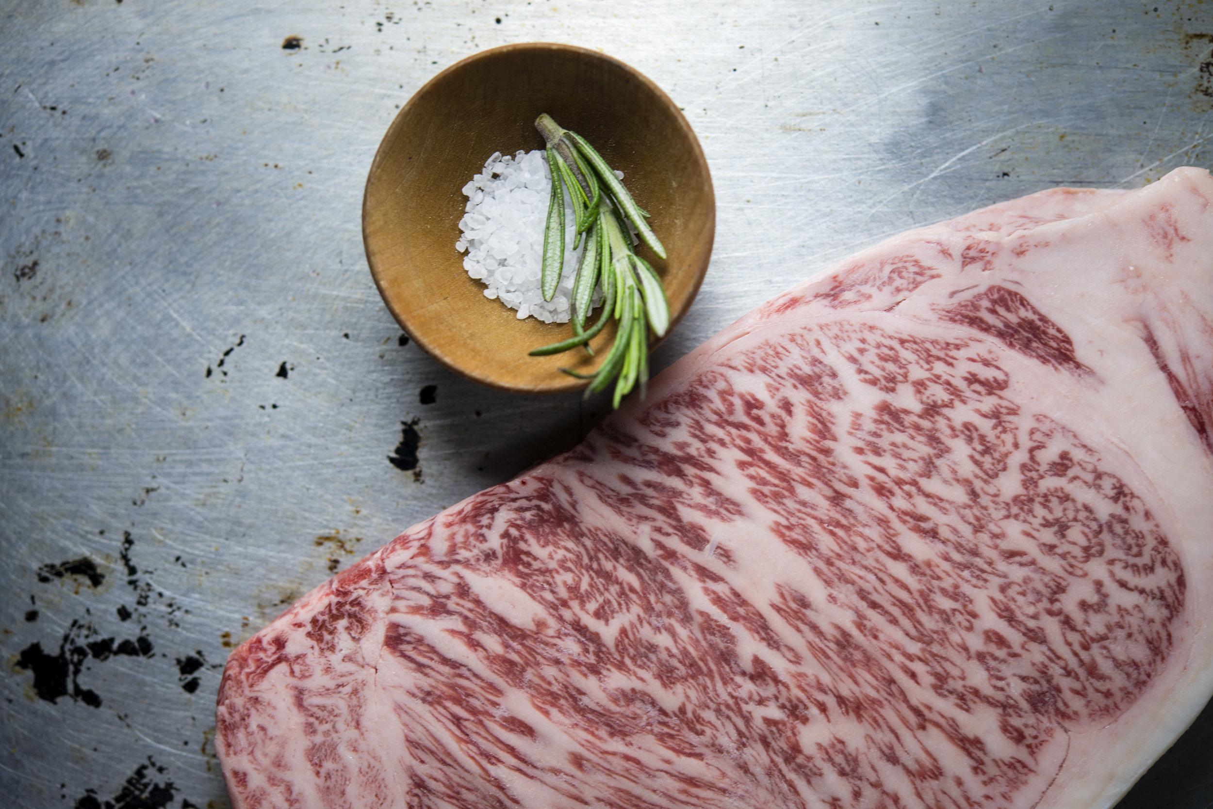 A5 Miyazakigyu Wagyu Beef Striploin Steaks 03.jpg