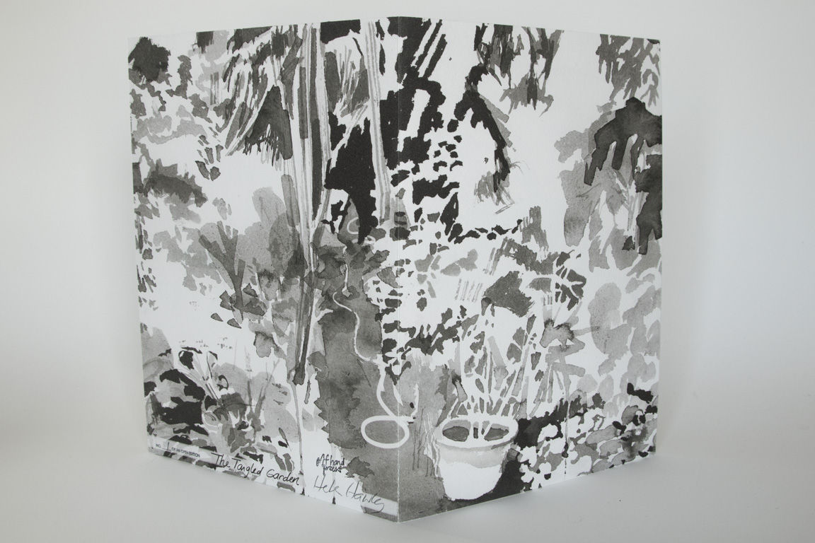 "The Tangled Garden, 2019, inkjet on Hahnemühle, 13"" x 9 1/2"""