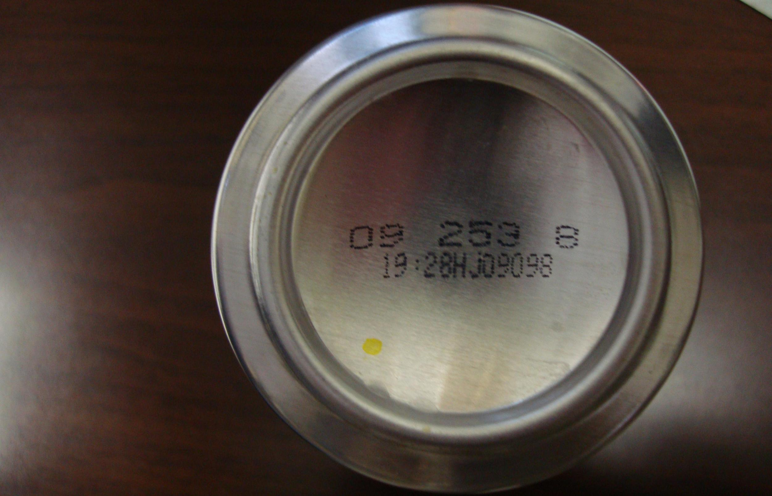 Date expiration soda can Can Soda
