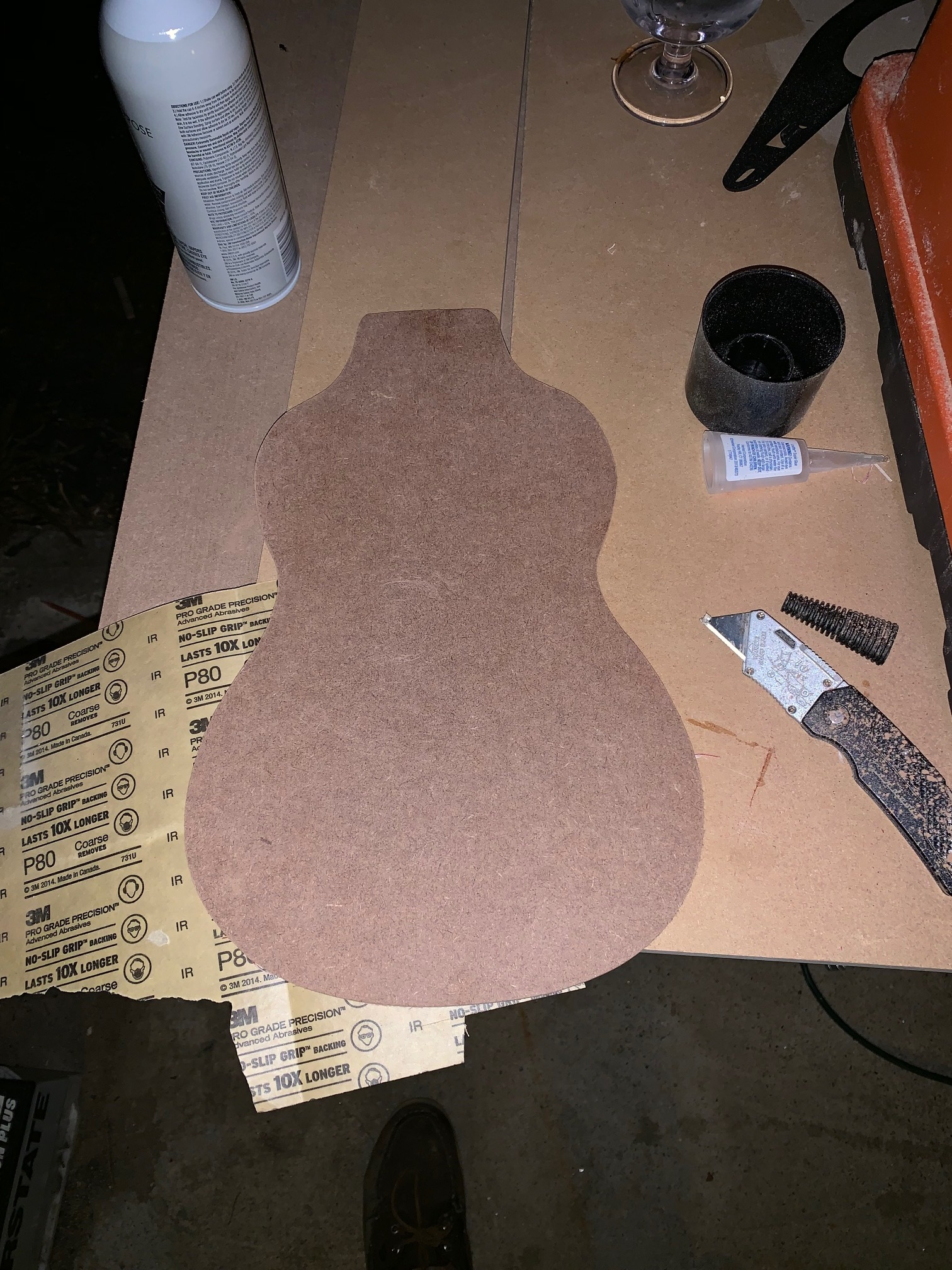 The final body template.