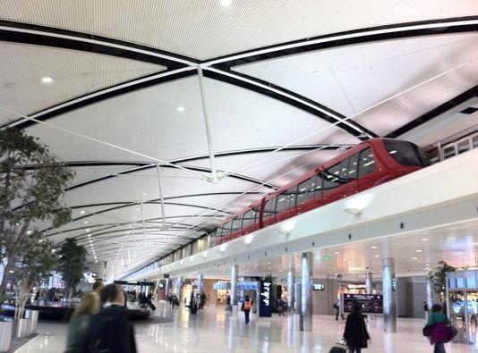 Wayne Airport Terminal, Detroit MI