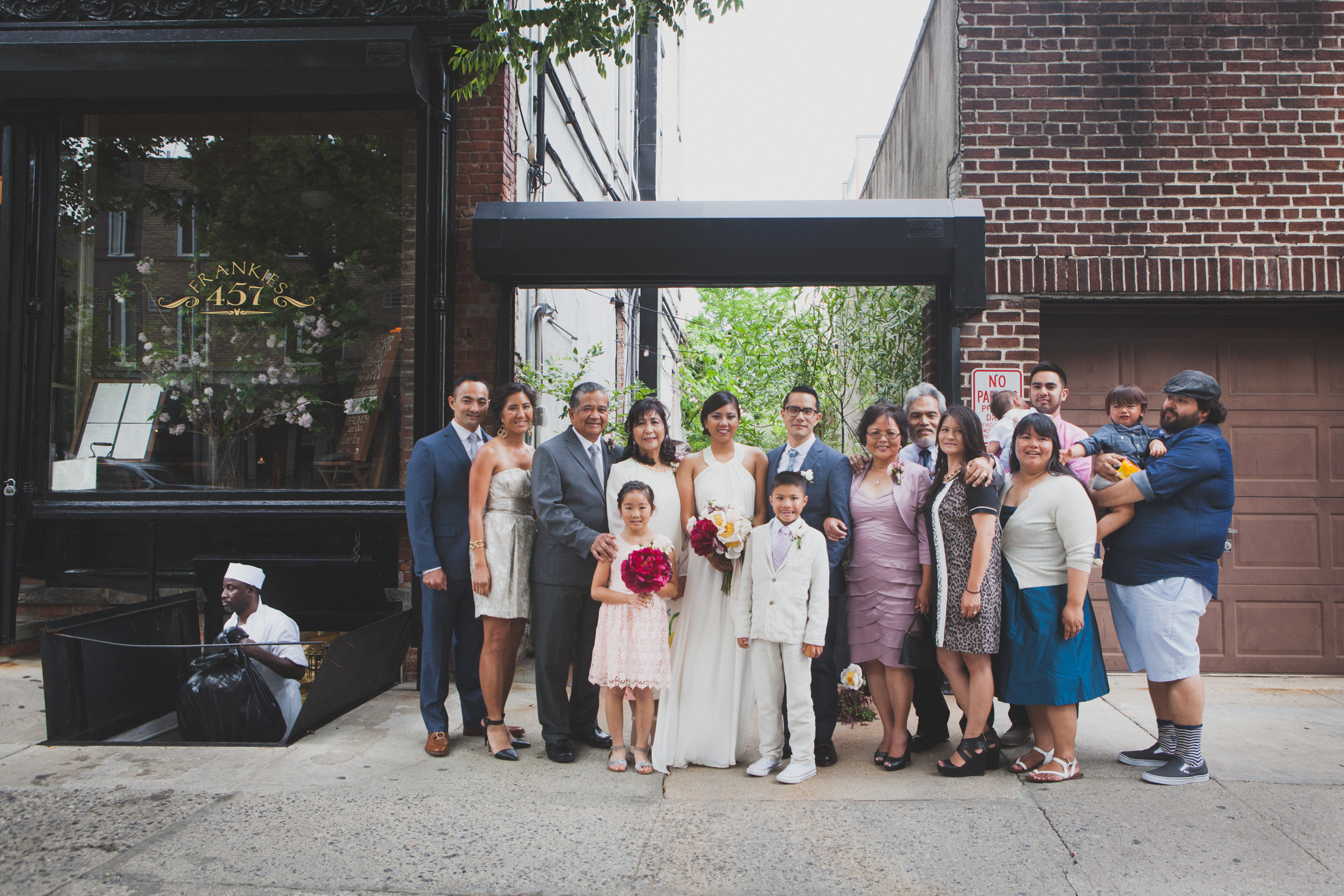 The wedding day of Audrey & Mike in Brooklyn, NY