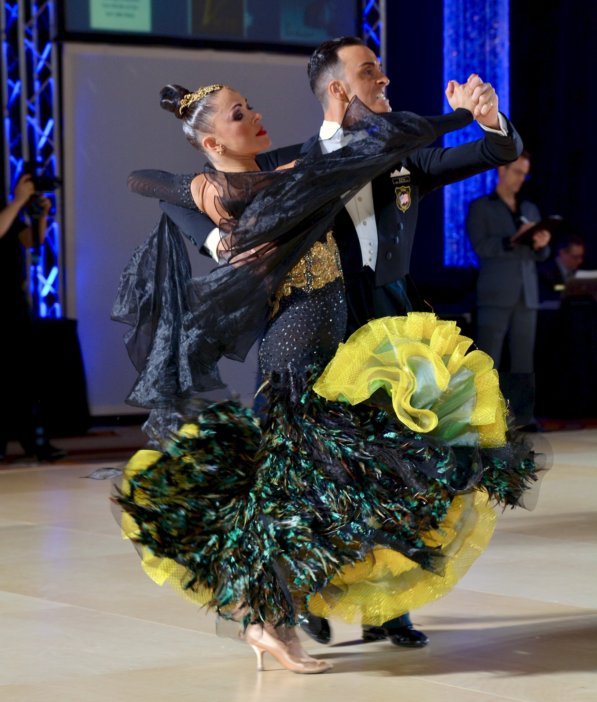 Professional Dancers Manuel Trillo and Anna Belyavtseva