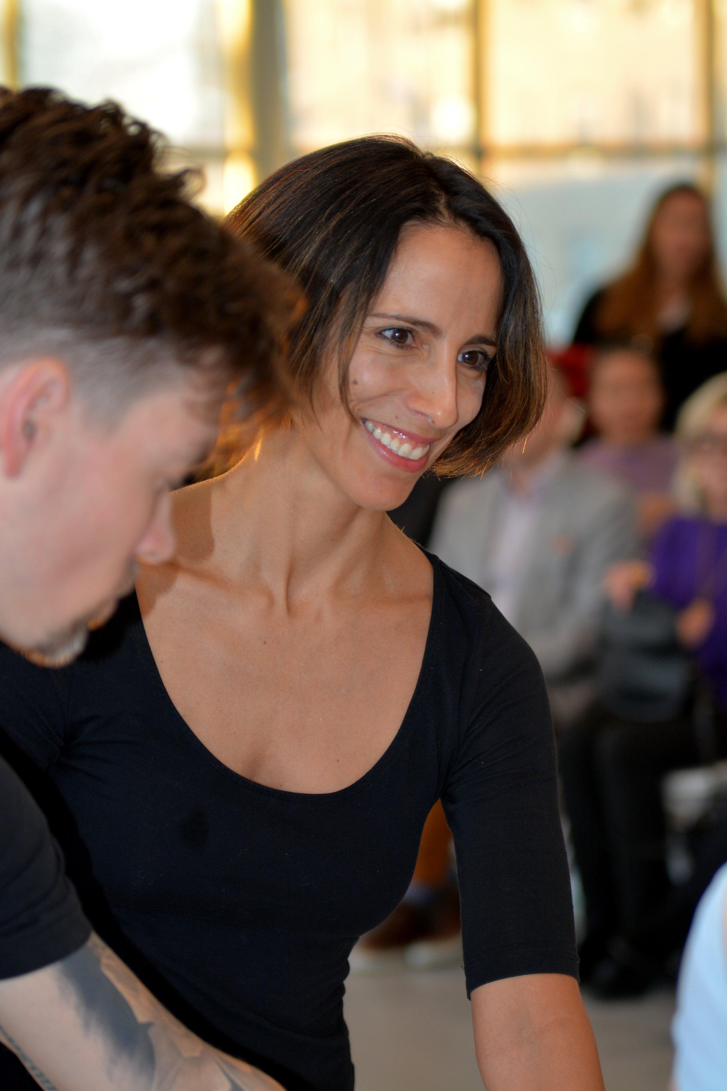 Choreographer Annabelle Lopez Ochoa