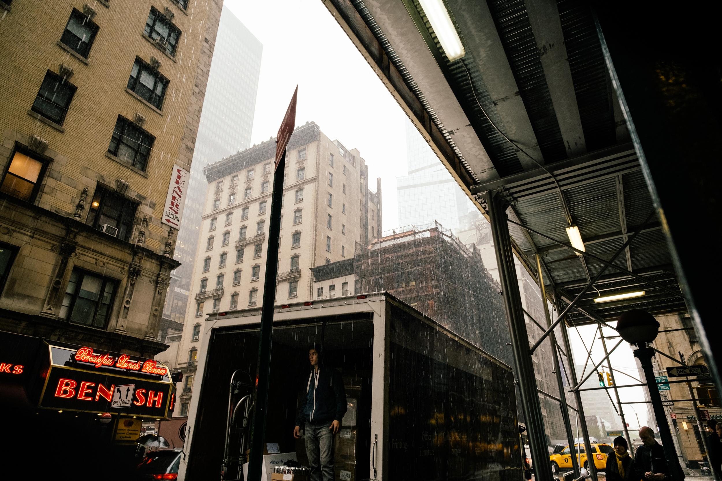 NYC Rain XII