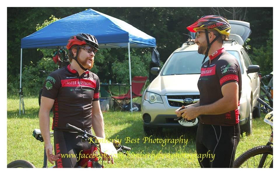 Tim and Gordon, chatting about the meaning of life. Photo Cred: Kimberly Best Photography