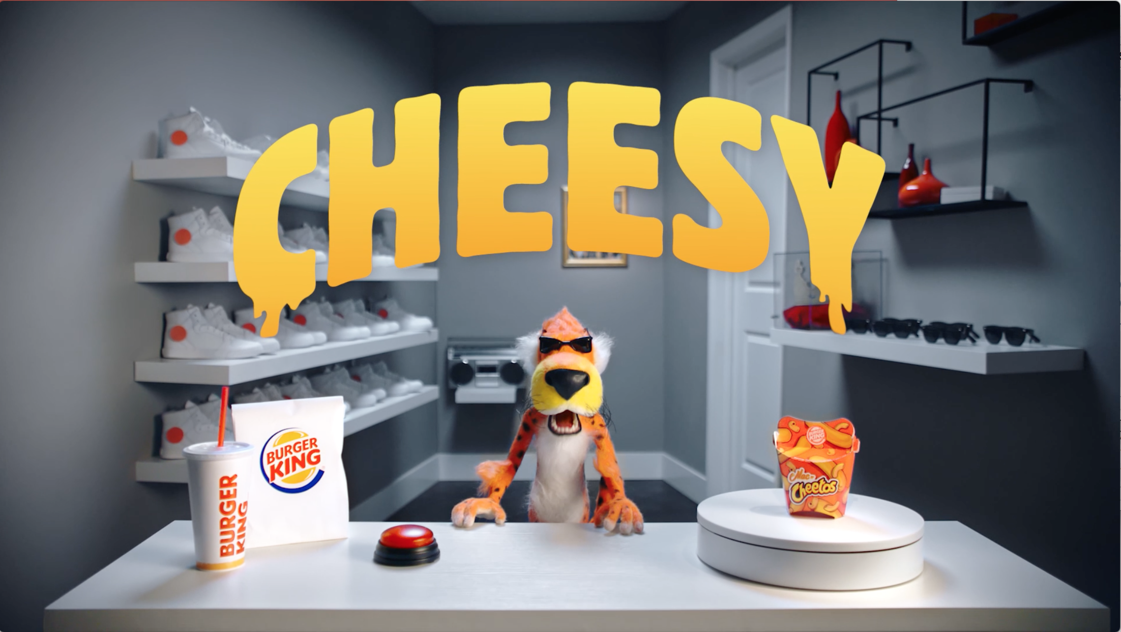 "BURGER KING ""Mac n Cheetos"""