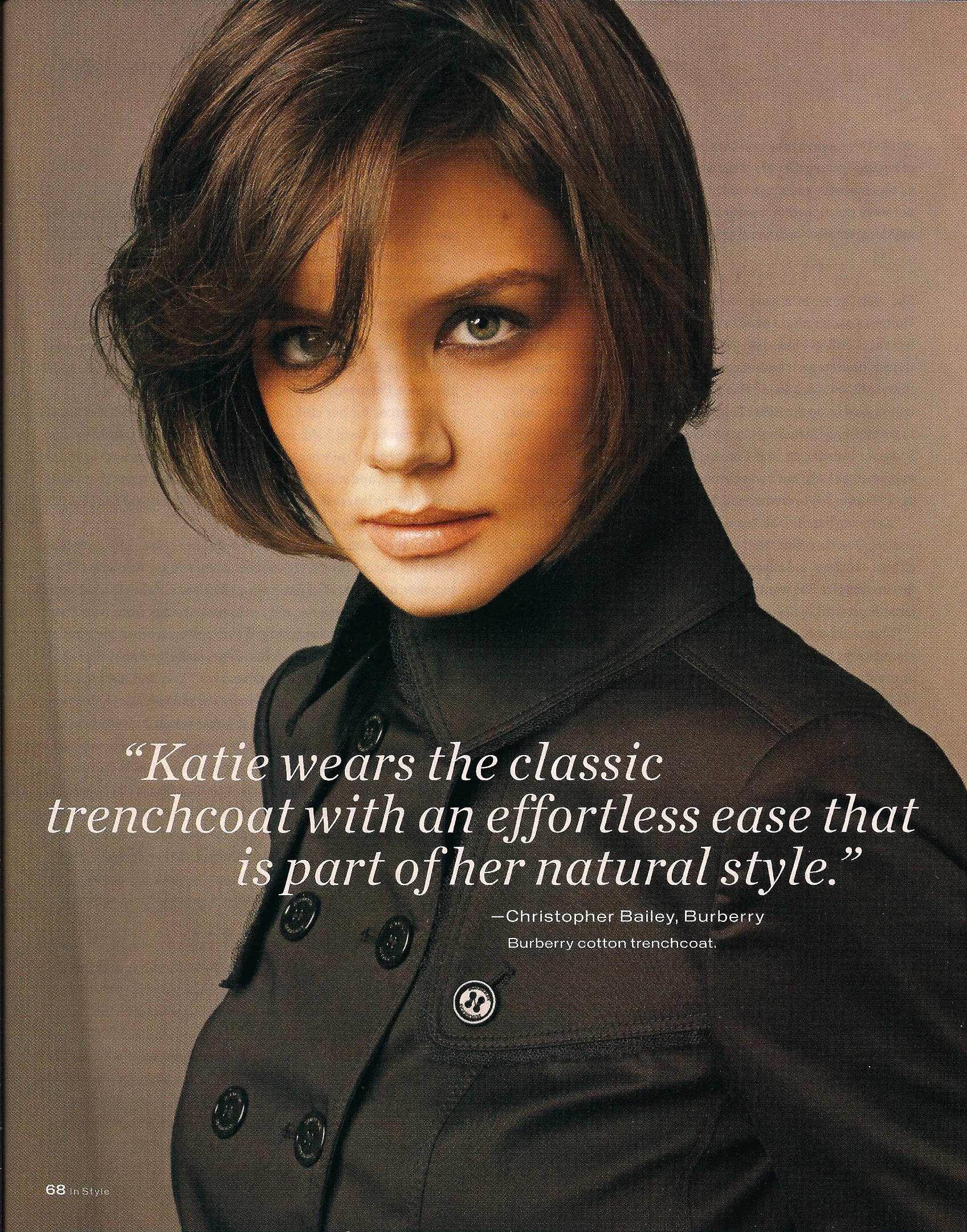 Katie Holmes / InStyle