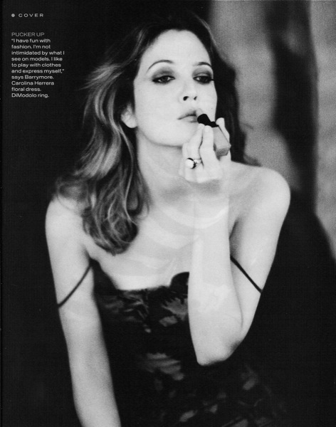 Drew Barrymore / InStyle