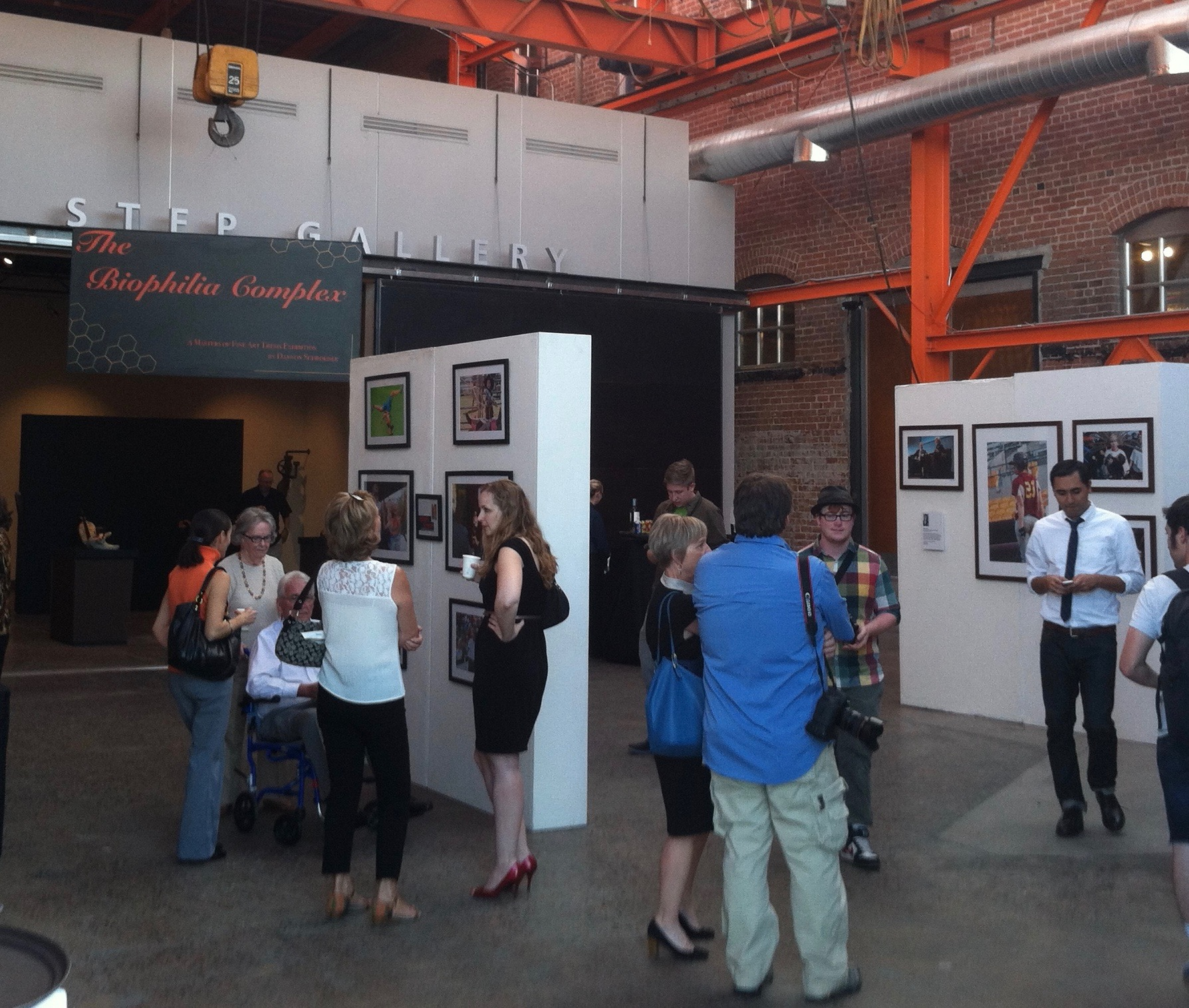 The Biophilia Complex  &  Walter E Cronkite. School of Journalism Crowder Reception. STEP  Gallery, Phoenix, AZ. 2014
